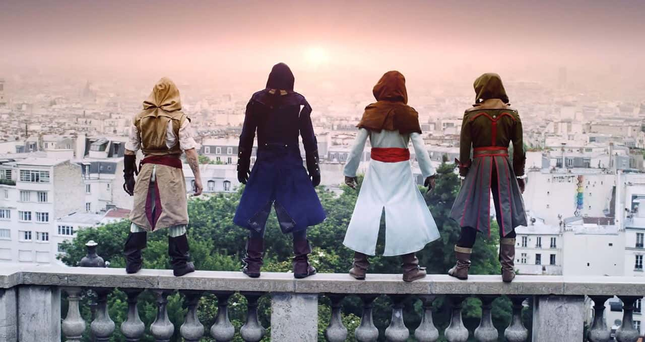 Assassin's Creed Unity - Real Life Parkour - Unfinished Man
