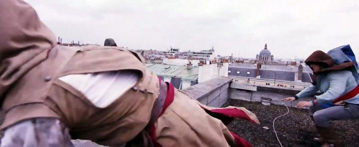 assassins creed unity real life parkour