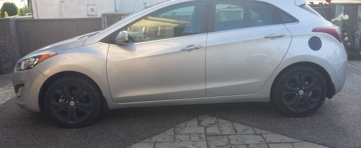 Hyundai Elantra Plasti Dip car