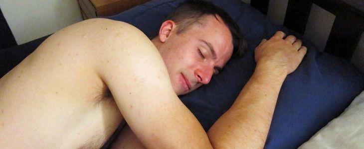 sleeping on buckwheat pillow
