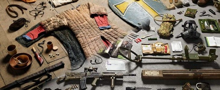 the history of soldiers kit