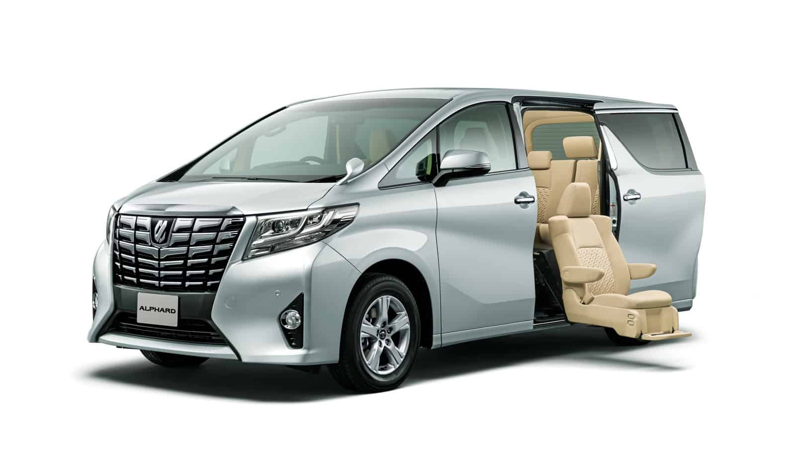 Toyota Alphard And Vellfire Minivan America Is Not Ready