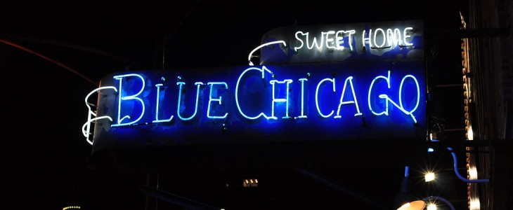 Blue Chicago lounge