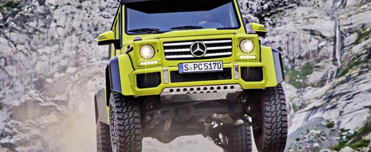 Mercedes-Benz G63 4x4 Squared