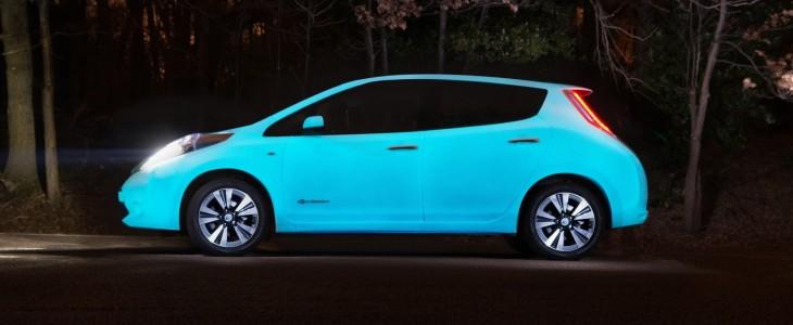 Nissan Leaf Starpath glow in dark