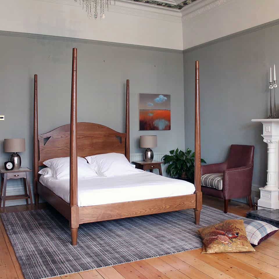 Luxury Four Poster Beds By TurnPost Unfinished Man