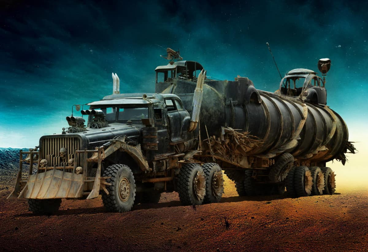 the cars of mad max fury road unfinished man. Black Bedroom Furniture Sets. Home Design Ideas