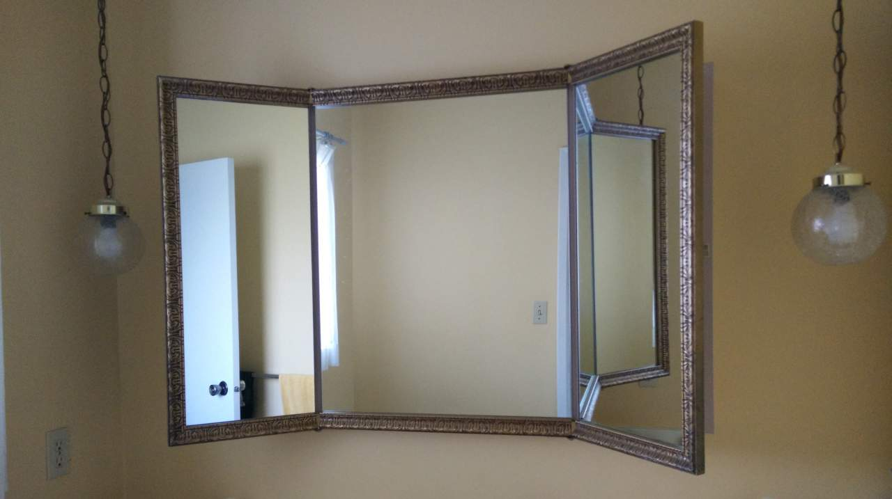 Self cut system review cut your own hair and save save for Bathroom 3 way mirror