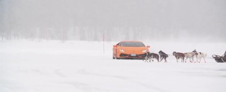 lamborghini-huracan-snowmobile-dragrace