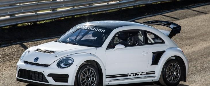 Test VW Beetle GRC
