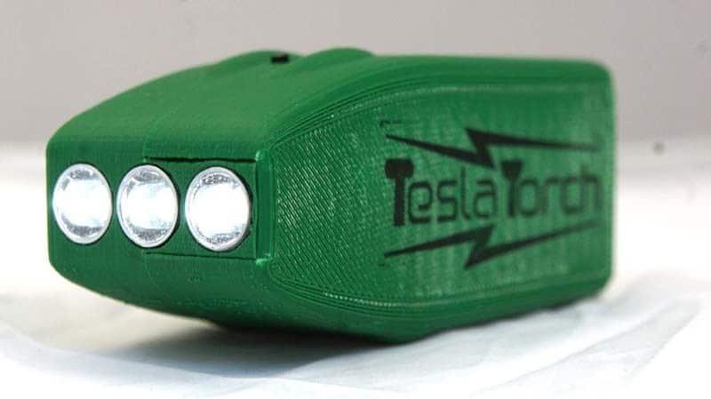 Tesla Torch flashlight