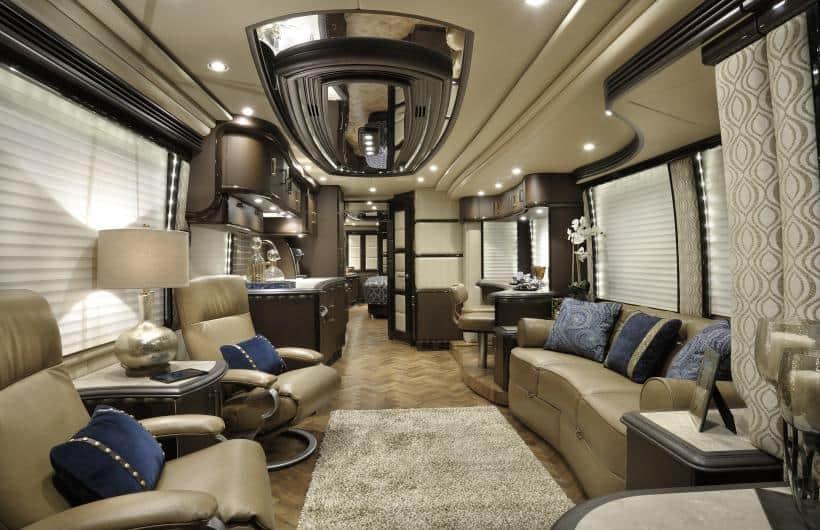 Most expensive motorhomes caravans unfinished man