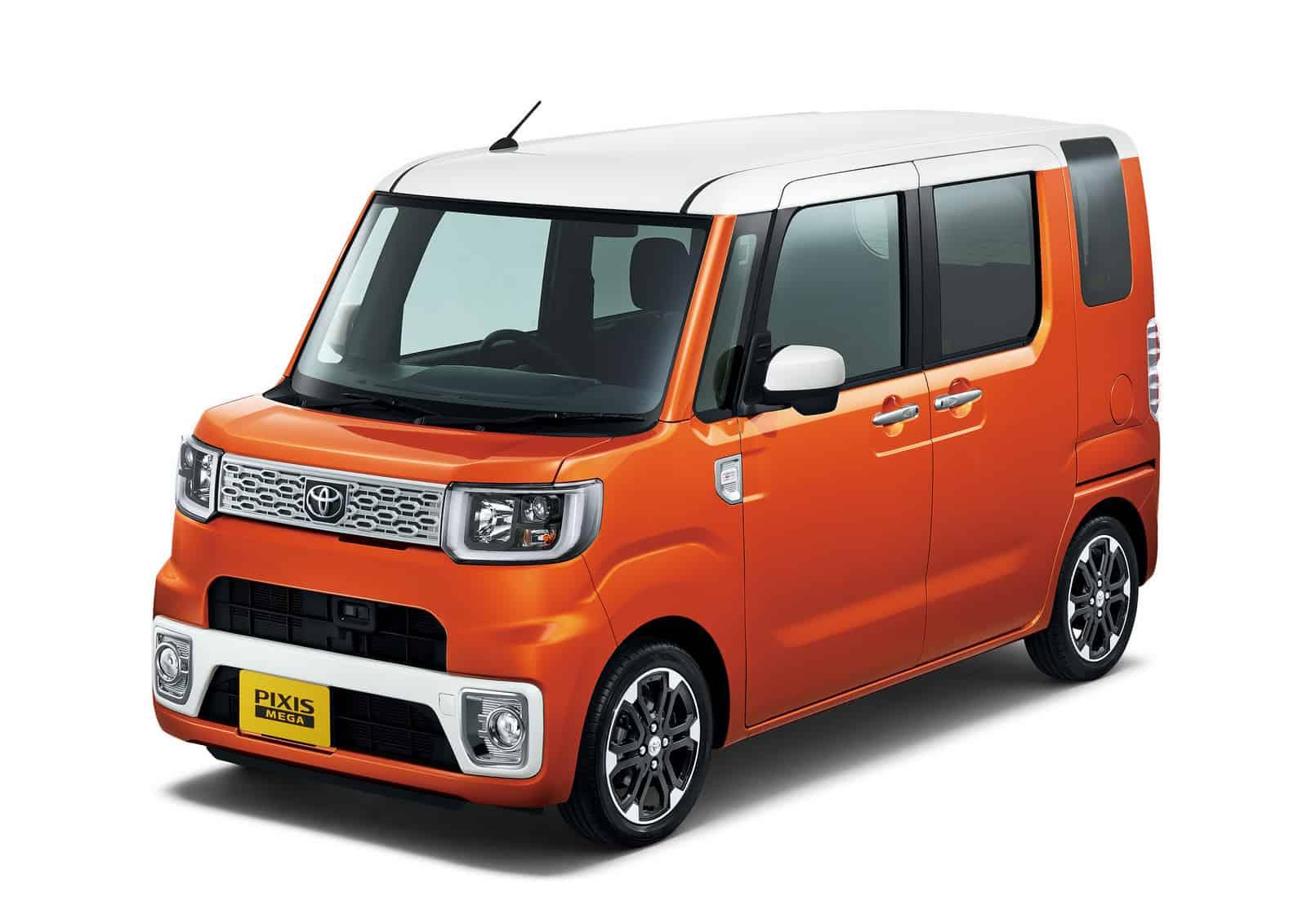 Toyota Pixis Mega Kei Car
