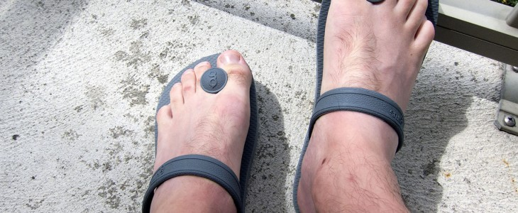good sandals for back pain
