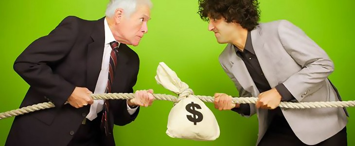 people-fighting-over-money-bag