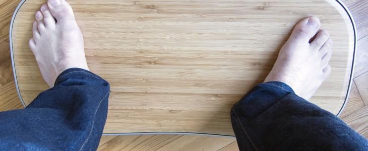 the level balance board for standing desks