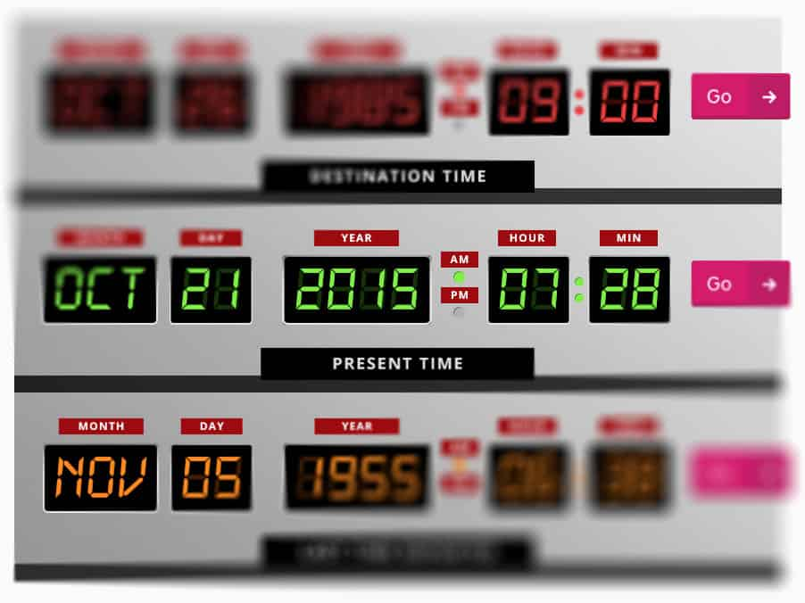 time machine widget