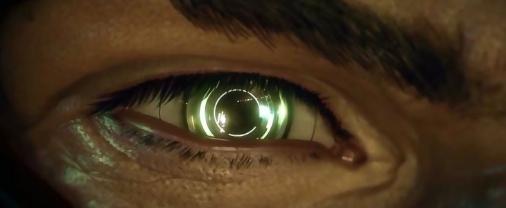 Adam Jensen's bionic eye from Deus Ex