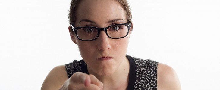 angry-woman-pointing