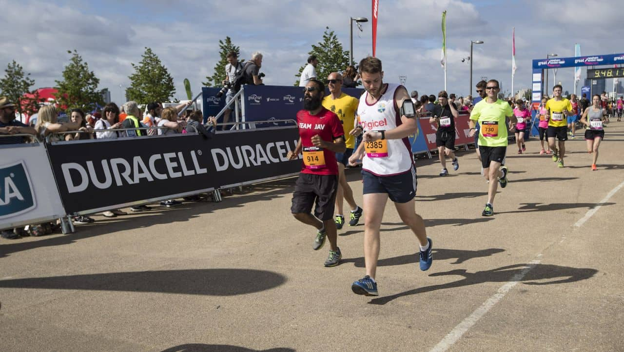 The <em>Great Run</em> Marathon by Duracell