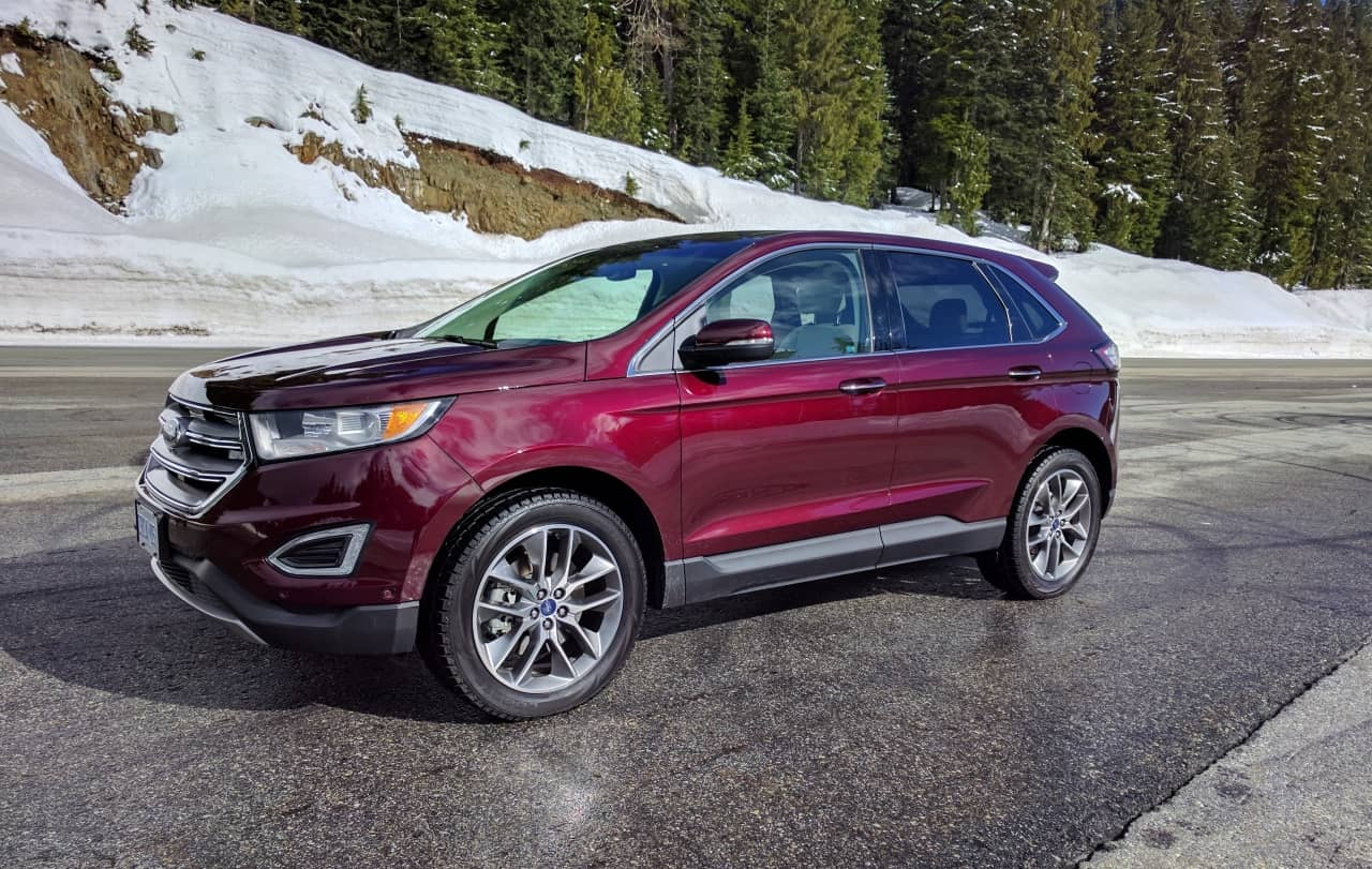 Original 2017 Ford Edge Titanium Review  A Little More Edgier