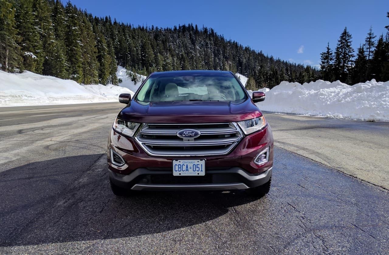 New 2017 Ford Edge Titanium Review  A Little More Edgier