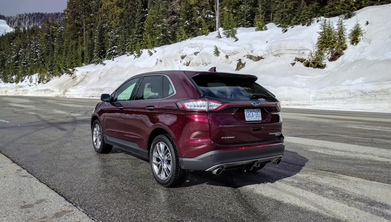 Wonderful 2017 Ford Edge Titanium Review  A Little More Edgier